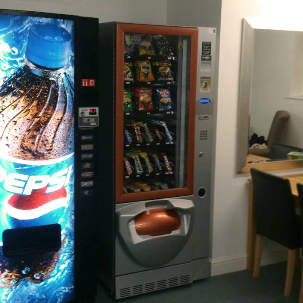 Vending Machine in Care Home