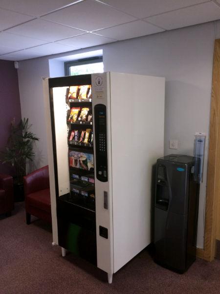 Vending Machine in Trade Area
