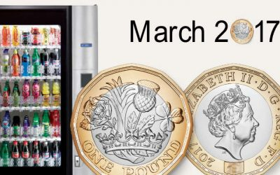New £1 Coin and Vending Machines